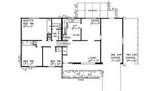tri level house plans 1970s tri level house floor plans