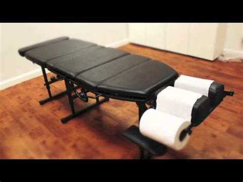 arena 180 portable chiropractic arena 180 portable chiropractic adjustment youtube