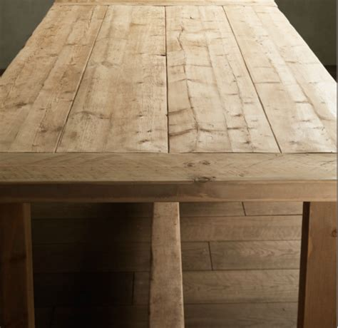 restoration hardware farm table tutu style make your own table