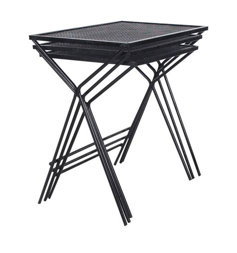 Mid Century Modern Salterini Tempestini Wrought Iron Wrought Iron Patio Side Table
