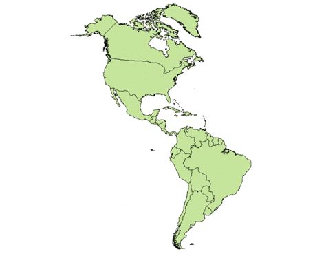 map of western hemisphere western hemisphere map