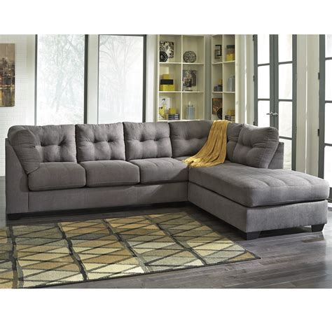 maier charcoal 2 piece sectional bernie phyl s