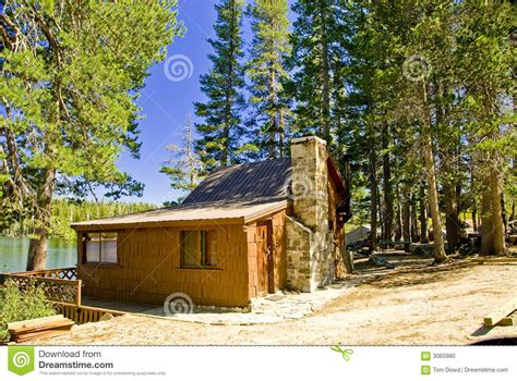 Mountain Lake Cabins by Mountain Lake Cabin Stock Photo Image 3065980