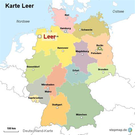 städtekarte deutschland karte leer ortslagekarte landkarte f 252 r deutschland