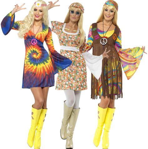 60s hippie fancy dress hippy 1960s 1970s womens