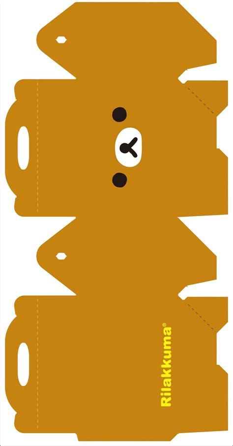 Rilakkuma Papercraft - rilakkuma box 1 by kreystalx on deviantart