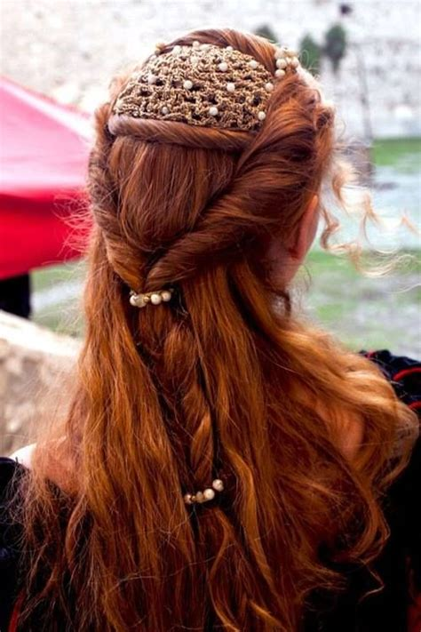 medieval hairstyles for women best 25 medieval hairstyles ideas on pinterest