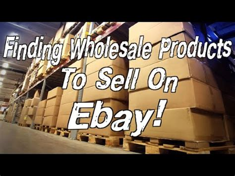 How To Sell On Ebay V The Rest by Find Wholesale Products To Sell On Ebay Easy Solution