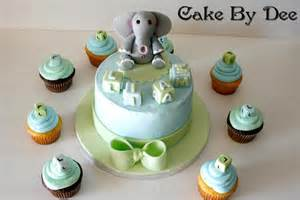 you have to see baby shower elephant cake by cakesbydee