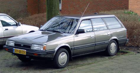 subaru leone wagon subaru leone ii station wagon 1800 4wd 120 hp