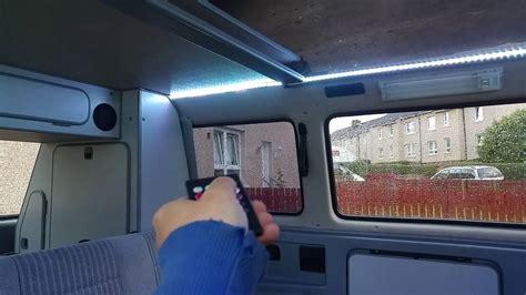 vw  westfalia led interior light youtube