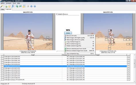 Image Comparer is a duplicate photo finder to compare ... Comparere