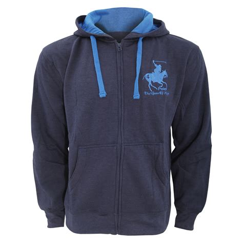 Polo Jacket Layout | mens hooded full zip jacket hoodie sweatshirt embroidered