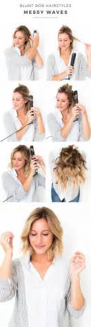 curling hair tutorial for med hair best 25 wavy bob tutorial ideas on pinterest curl lob