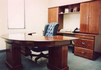 Circular Office Desks Circular Cherry Executive Office Desk
