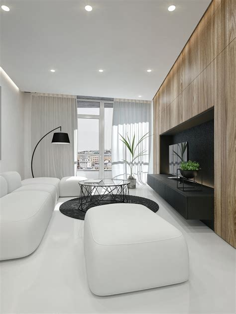 interior design ideas black and white interior design ideas modern apartment by