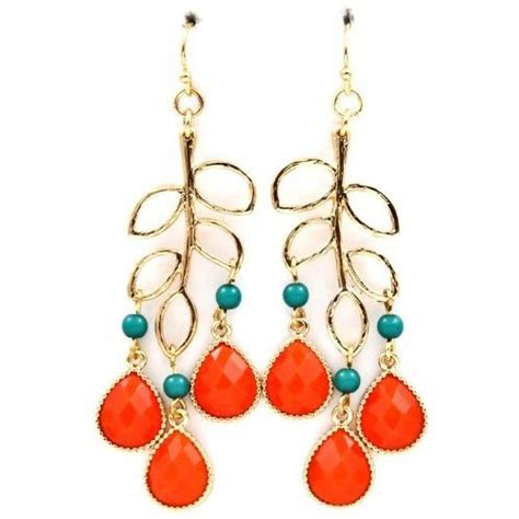 coral and turquoise earrings products i would like