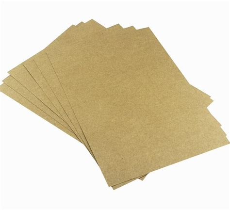 thick craft paper 400g a5 brown kraft blank paper cardstock thick papers