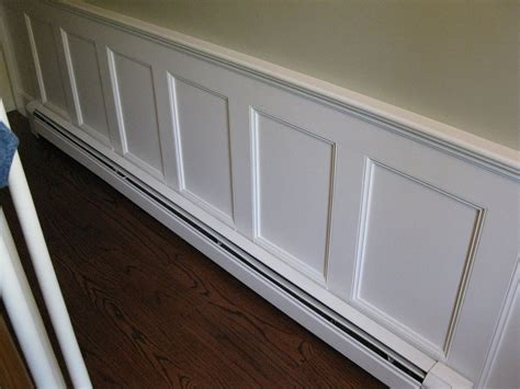 beadboard baseboard building a bookcase around radiators a concord carpenter