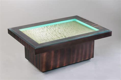 coffee table amazing modern led coffee table lighted
