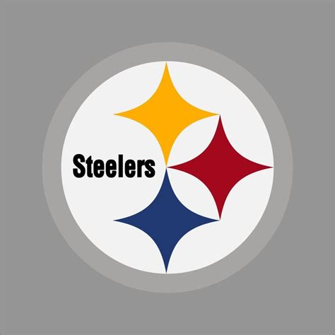 Pittsburgh Steelers Helmet Logo Sticker