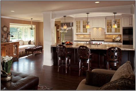 Open Living Room Kitchen Color Ideas Living Room Kitchen Color Ideas