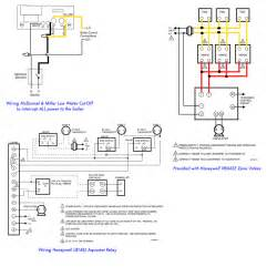 4 wire zone valve diagram taco zone valve piping diagram wiring diagrams
