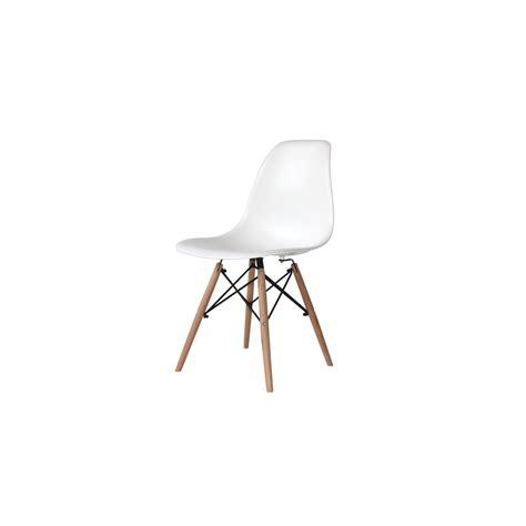 mesa y sillas blancas pack mesa beech y 4 sillas tower wood blancas