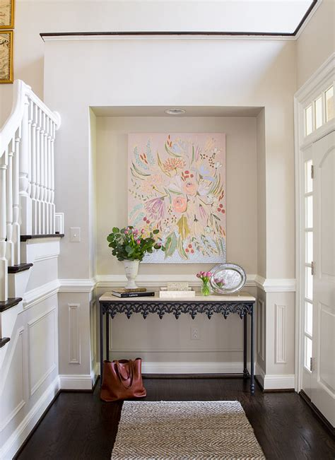 foyer nook ideas family home with neutral interiors home bunch interior