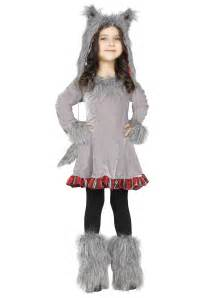 wolf halloween costume for girls toddler girls wolf costume