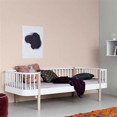 kids day bed contemporary wood kids day bed in oak white kids beds