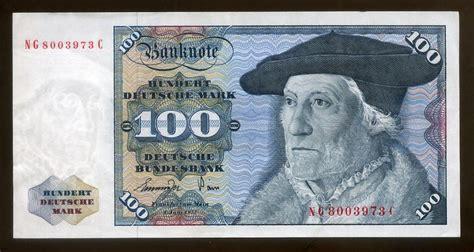 deutsche bank münster german money 100 deutsche banknote 1977 sebastien