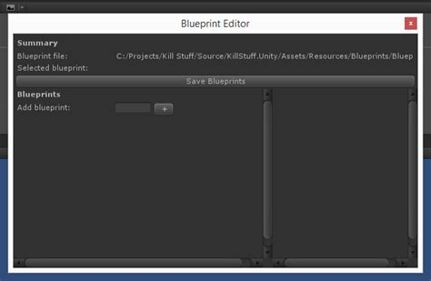 blueprint editor creating a component based part iv blueprints coding with style in unity3d
