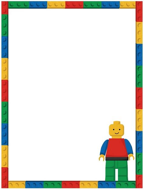 free lego invitation template invitations