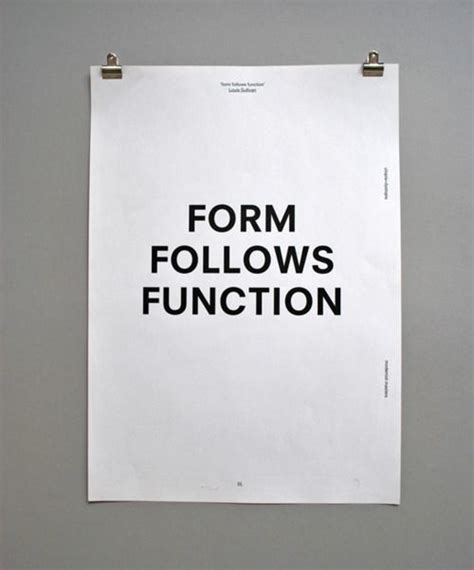 design form follows function form follows function print design pinterest