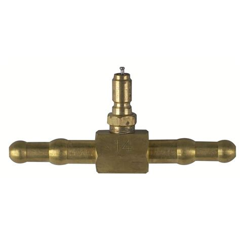 Double End Hose Adapter With Valve 5 16 Amp 3 8 Otc 518480