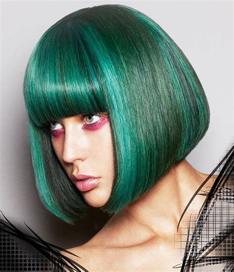 green hairstyles avant garde hairstyles page 2