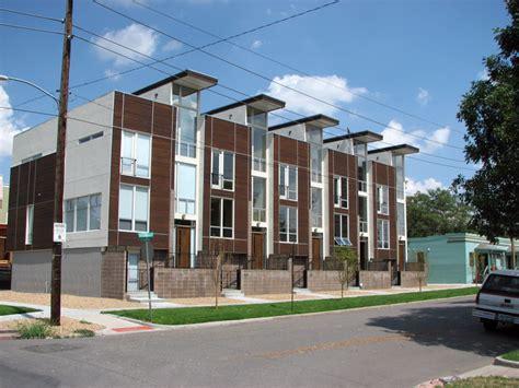 modern row houses to go up near museum district scott s denverinfill update curtis park five points construction