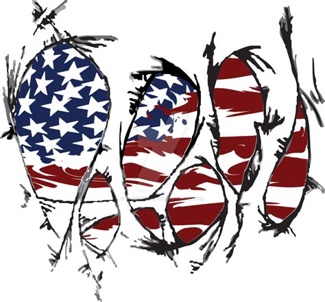 torn shirt american flag by ds designs on da on deviantart