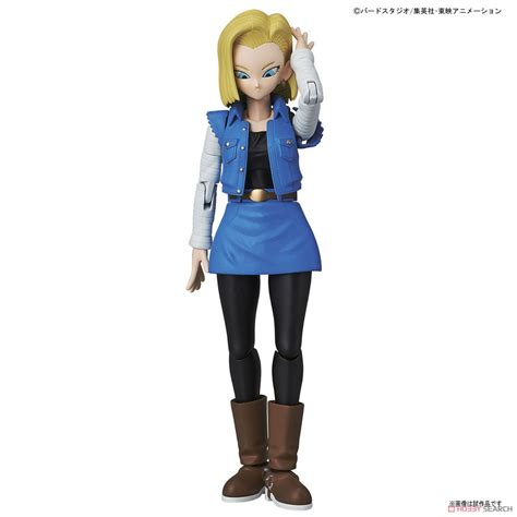 Bandai Figure Rise Standard Android 18 figure rise standard android no 18 plastic model images list