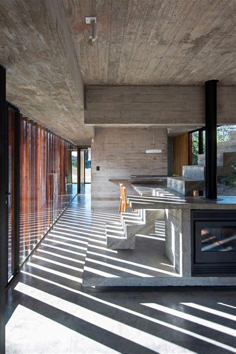 interieur de en beton brute