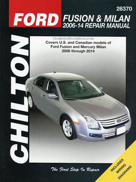 best car repair manuals 2006 ford fusion parking system ford fusion mercury milan repair manual 2006 2014 chilton 26370