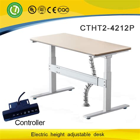 Student Desk Computer Desk Healthy Protection T Feet Electric Height Adjustable Computer Desk