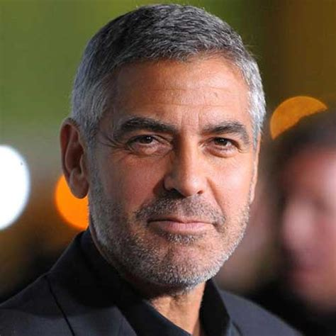 middle age men hairstyle thin 15 best george clooney short hair mens hairstyles 2018