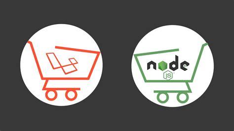 tutorial shopping cart laravel new laravel nodejs project shopping cart youtube