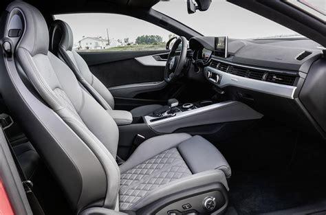 audi s5 interior 2016 audi s5 review autocar