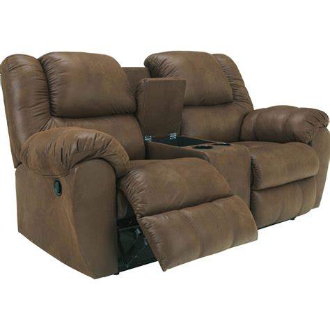 loveseat console ashley furniture reclining sofa and loveseat hereo sofa
