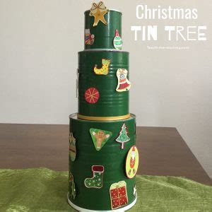 why have just one christmas tree when you can have more christmas tin tree teach me mommy