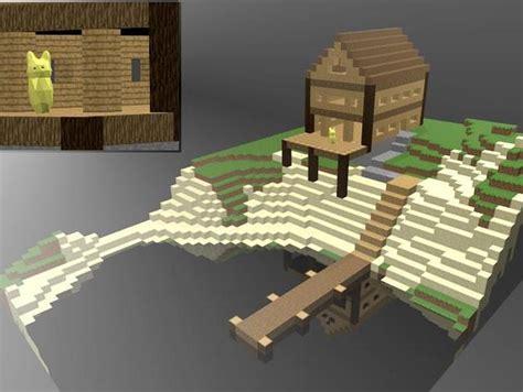 minecraft lake house minecraft lake house by sandwich thingiverse