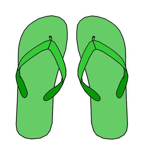 flip flops clip green flip flops clipart